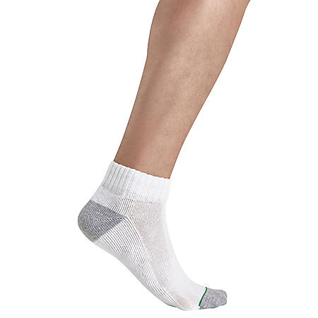 Member's Mark 10-Pack Quarter Top Sport Socks