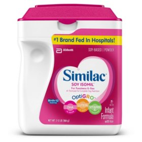 Similac Soy Isomil Infant Formula (34 oz.)