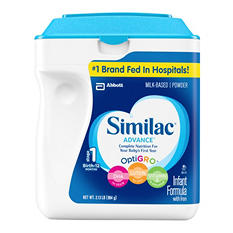 Similac Advance Infant Formula with Iron, Stage 1 (34.8 oz.)