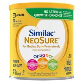 Similac NeoSure Infant Formula with Iron Powder (13.1 oz., 6 ct.)