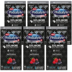 Pedialyte AdvancedCare Plus Electrolyte Powder Packets, 36 ct. (Choose Your Flavor)