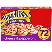 Bagel Bites Cheese and Pepperoni Mini Bagels, Frozen (72 ct.)