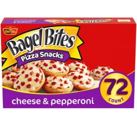 Bagel Bites Cheese and Pepperoni Mini Bagels (72 ct.)