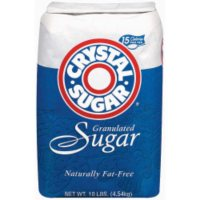 Crystal Sugar, Granulated (10 lb.)