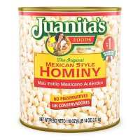 Juanita's Foods Mexican Style Canned Hominy (110 oz.)