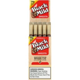Black & Mild Sweets Wood Tip $.79 (25 ct.)