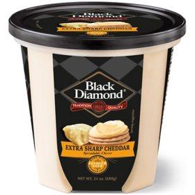 Black Diamond Extra Sharp Cheddar Cheese Spread (24 oz.)