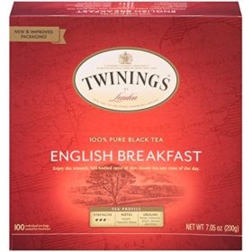 Twinings English Breakfast Tea Bags (100 ct.)