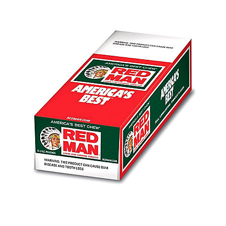 Red Man Chewing Tobacco (3 oz. pouch, 12 ct.)