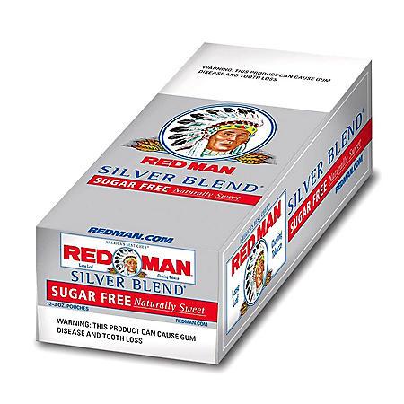 Red Man Silver Blend Sugar Free (3 oz. pouch, 12 ct.) Promo $0.40