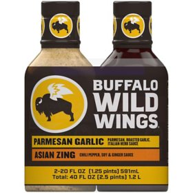 Buffalo Wild Wings Wing Sauce (20 oz., 2 pk.)