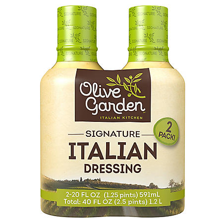 Olive Garden Signature Italian Dressing (20 oz. bottle, 2 ct.)
