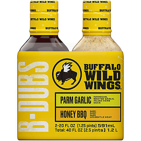 Buffalo Wild Wings Sauce (20 oz., 2 pk.)