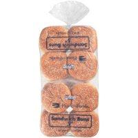 "Flowers Foods 5"" Seeded Hamburger Buns (16 ct.)"