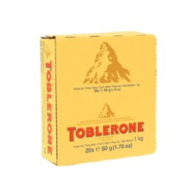 Toblerone Milk Chocolate Bars with Nougat (3.52 oz., 6 pk.)