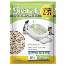 Tidy Cats BREEZE Cat Litter Pellets Refill for Multiple Cats (3.5 lb. Pouch)