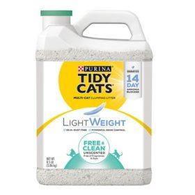 Purina Tidy Cats Lightweight Free & Clean Clumping Cat Litter (8.5 lb.)