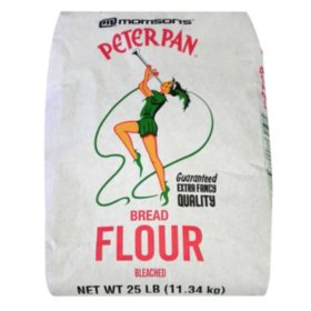 Morrison's Peter Pan Bread Flour (25 lbs.)