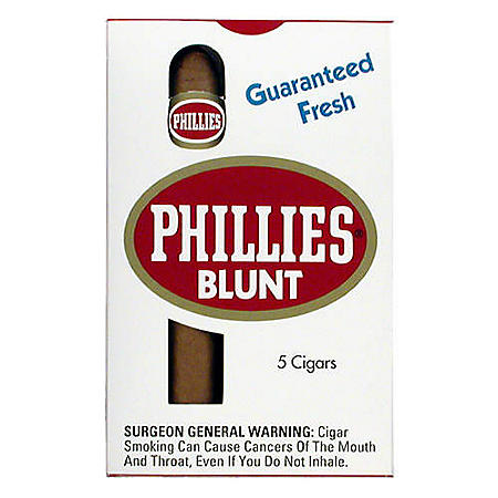 Phillies Blunt Cigars (5 ct., 10 pk.)