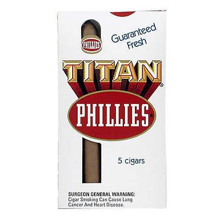 Phillies Titan Cigars - 50 ct.