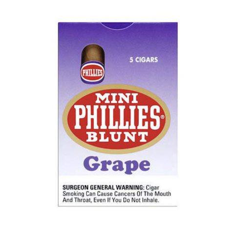 Mini Phillies Blunt Cigars Grape - 50 ct.