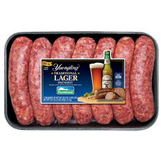 Traditional Lager Beer Bratwurst (3.27 lb.)
