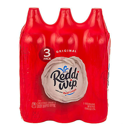 Reddi-Wip Original Whipped Topping (15 oz. can, 3 pk.)