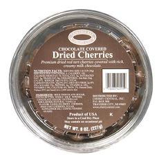 Traverse Bay Chocolate Covered Dried Cherries (8 oz., 12 pk.)