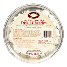 Traverse Bay Yogurt Covered Dried Cherries (8 oz., 12 pk.)