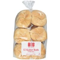 H&S Bakery Enriched Kaiser Rolls (26oz)