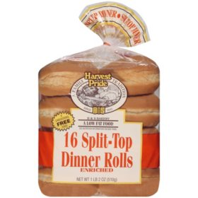 Harvest Pride Split-Top Dinner Rolls (16pk)