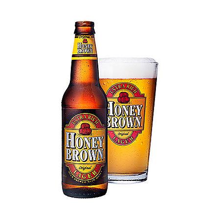 JW Dundee Honey Brown Lager (12 fl. oz. bottle, 12 pk.)