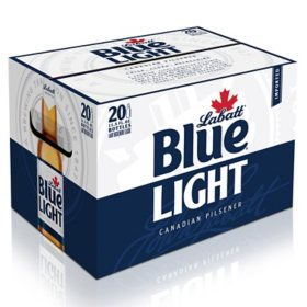 Labatt Blue Light Beer (11.5 fl. oz. bottle, 20 pk.)