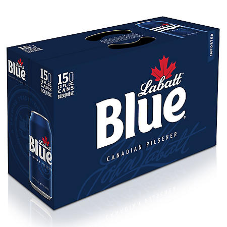 Labatt Blue Beer (12 fl. oz. can, 15 pk.)