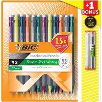 BIC Matic Grip Mechanical Pencil, HB #2, 0.7mm - 32 Pencils