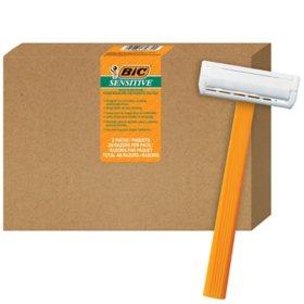 BIC Sensitive Men's Disposable Razor (48 ct.)