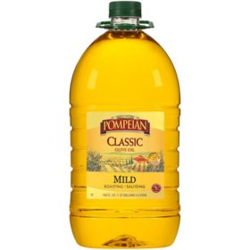Pompeian Imported Classic Pure Mild Olive Oil (5 L)