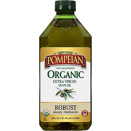 Pompeian Organic Robust Extra Virgin Olive Oil (68 oz.)