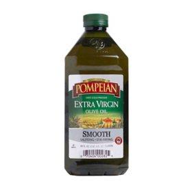 Pompeian Smooth Extra Virgin Olive Oil (68 oz.)