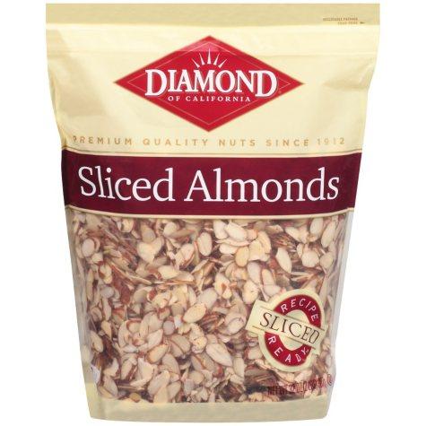 Diamond Sliced Almonds - 32 oz.