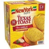 New York Bakery Garlic Texas Toast, Frozen (32 ct.)