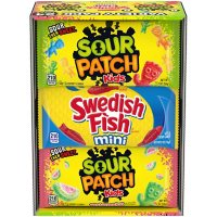 Sour Patch Kids and Swedish Fish Soft and Chewy Candy Variety Pack (24 pk.)