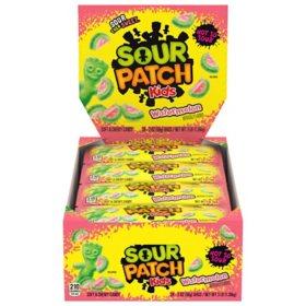 SOUR PATCH KIDS Watermelon Soft Chewy Candy (2 oz., 24 pk.)