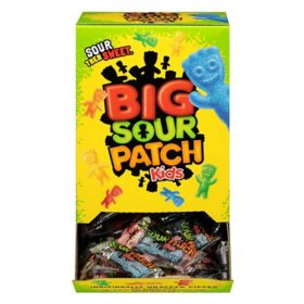 SOUR PATCH KIDS Big Individually Wrapped Soft & Chewy Candy (240 ct.)