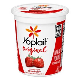 Yoplait Original Yogurt, Original Strawberry, Low Fat Yogurt (32 oz.)