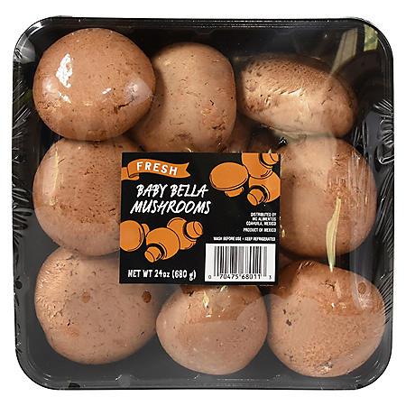 Baby Bella Mushrooms (24 oz.)