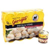 Giorgio Mushroom Pieces and Stems (4 oz., 12 ct.)