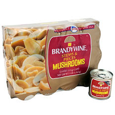 Brandywine Stems & Pieces Mushrooms (12 pk., 4 oz. ea.)