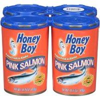 Honey Boy Pink Salmon (14.75 oz., 4 pk.)