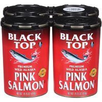 Black Top Premium Wild Alaska Pink Salmon (14.75 oz., 4 pk.)